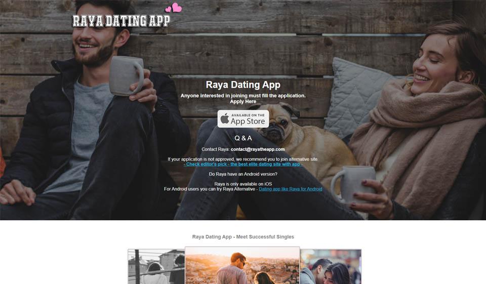 Raya Dating App Review 2021